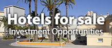 Hotels and apartment complexes for sale