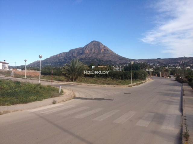 Plot in Javea / Xàbia PDVAL3409