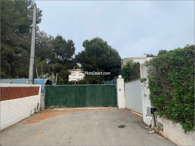 Plot in Javea / Xàbia PDVAL3709