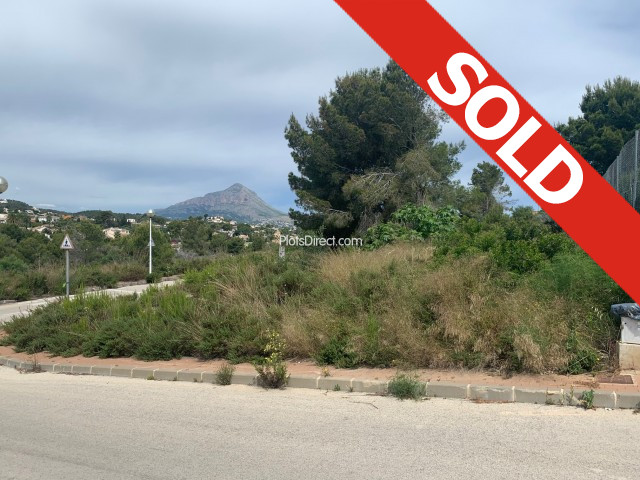 Plot in Javea / Xàbia PDVAL3712