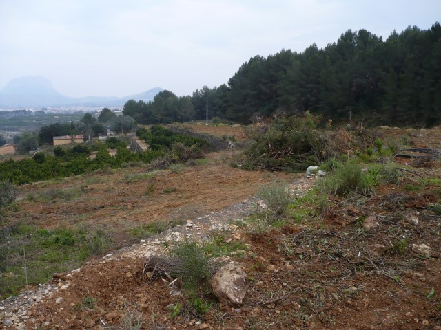 Building Plot in Beniarbeig