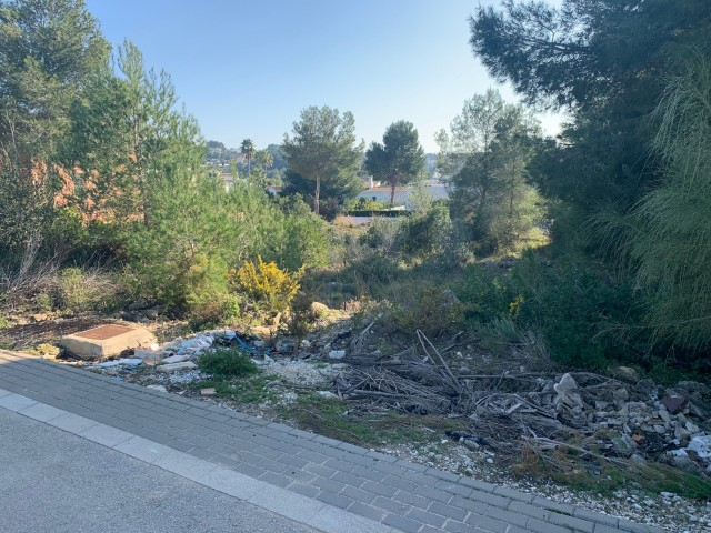 Building Plot in Moraira